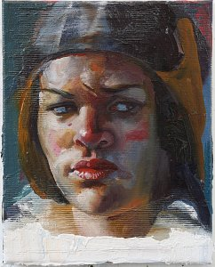 Portrait Jot,Painting by Rayk Goetze
