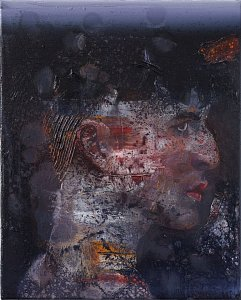 Profiler,Painting by Rayk Goetze