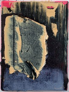 Transplantation 1,Painting by Rayk Goetze