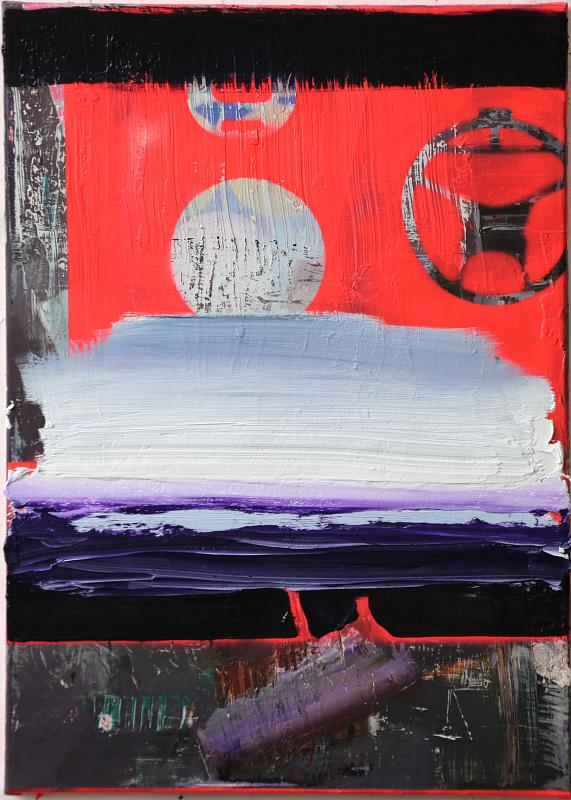 O.T., Painting by Rayk Goetze