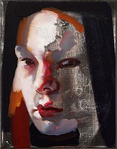Portrait Nr.4,Painting by Rayk Goetze