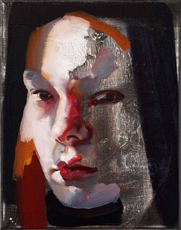 Portrait Nr.4, Painting by Rayk Goetze