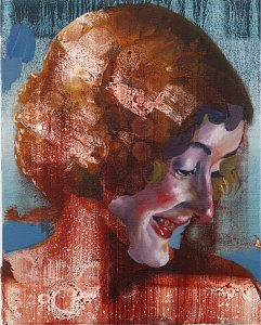 The Unknown (Portrait N°5),Painting by Rayk Goetze