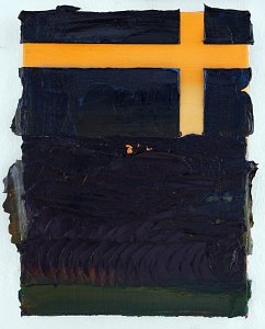 Piece 5 (Flag),Painting by Rayk Goetze